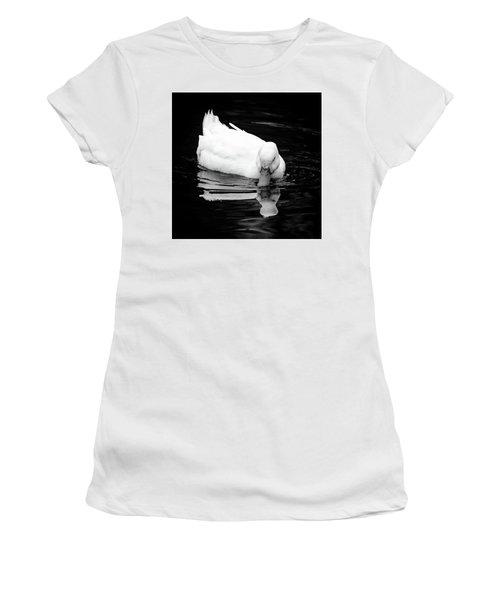 Peek-ing Duck Women's T-Shirt