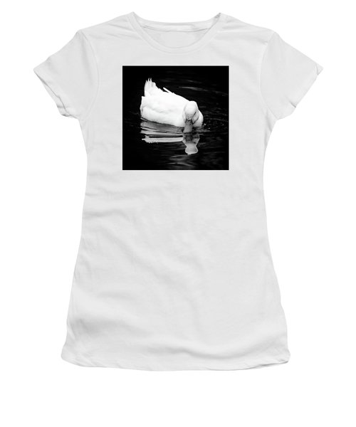 Peek-ing Duck Women's T-Shirt