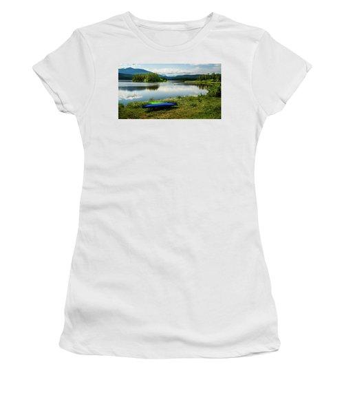 Pelicans At Shadow Mountain Lake Women's T-Shirt