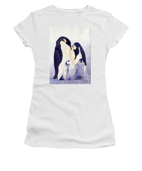 Penguin Family Women's T-Shirt