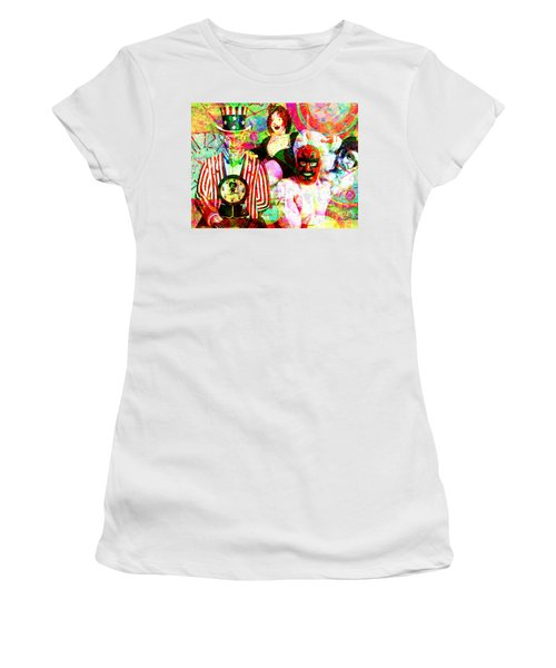 Women's T-Shirt featuring the photograph Penny Arcade 20160223 V2 by Wingsdomain Art and Photography