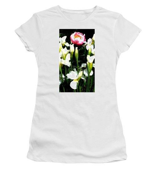 Peony And Iris Women's T-Shirt