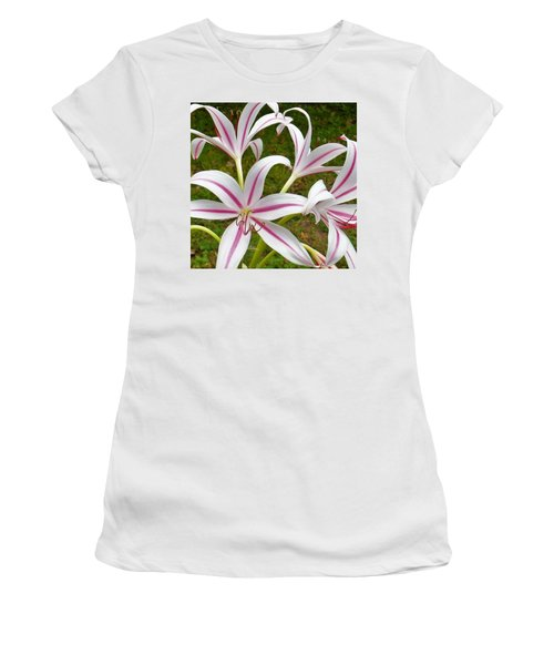 Peppermint Lilies Women's T-Shirt