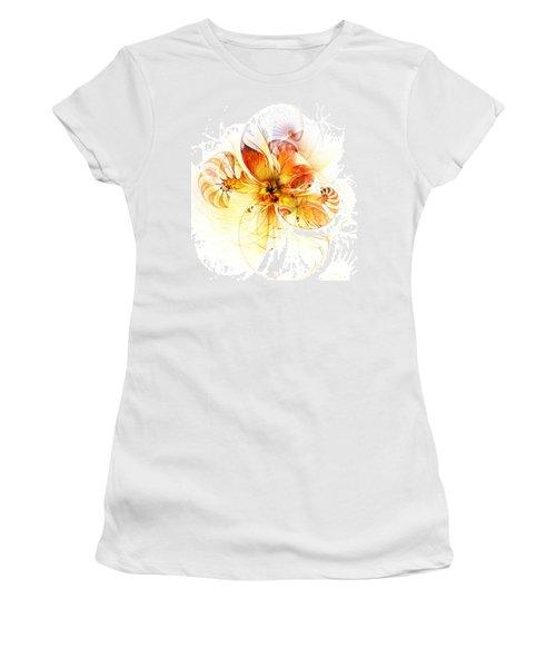 Petals Of Gold Women's T-Shirt