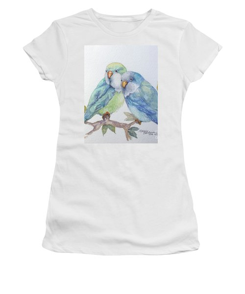 Pete And Repete Women's T-Shirt (Junior Cut) by Marcia Baldwin
