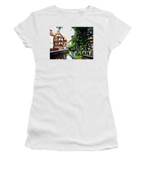 Petite France - Strassbourg, France Women's T-Shirt (Athletic Fit)