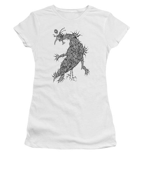Pheasant Women's T-Shirt (Junior Cut) by Raf Podowski