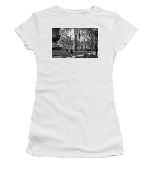Philadelphia Street Photography - 0902 Women's T-Shirt (Junior Cut) by David Sutton