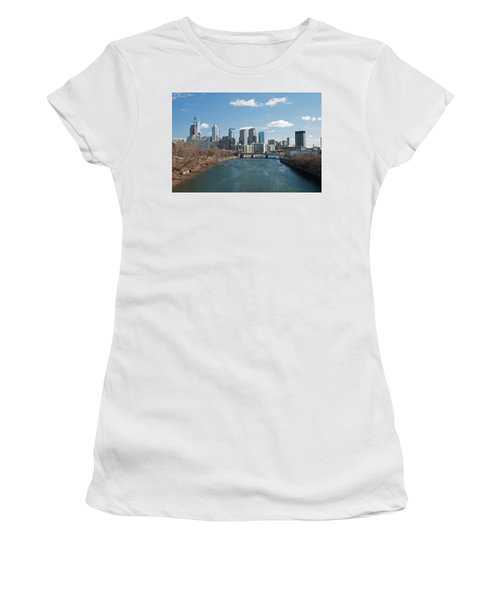 Philly Winter Women's T-Shirt (Athletic Fit)