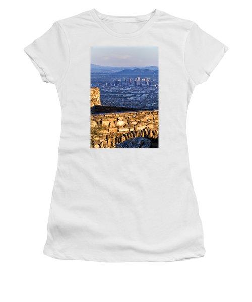 Phoenix Sunrise Women's T-Shirt (Athletic Fit)