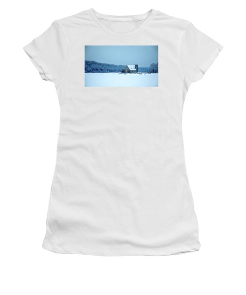 Photographer On Thin Ice Women's T-Shirt