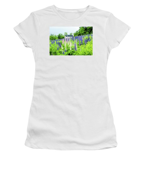 Women's T-Shirt (Junior Cut) featuring the photograph Photographers Dream Or Allergy Nightmare by Greg Fortier