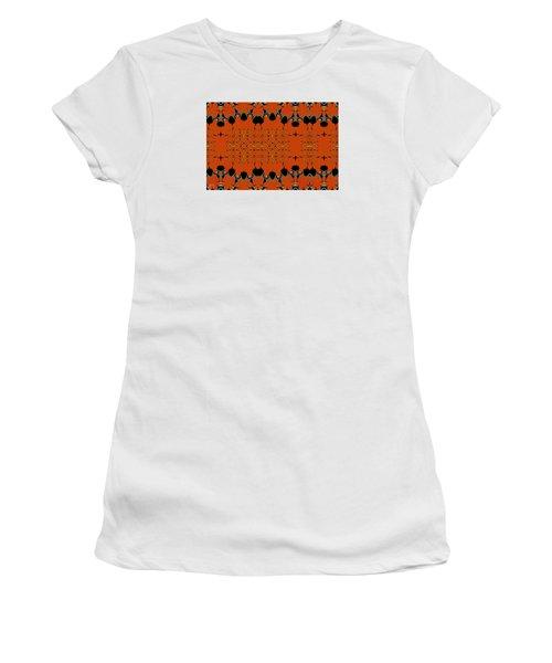 Piffles Women's T-Shirt (Junior Cut) by Jim Pavelle