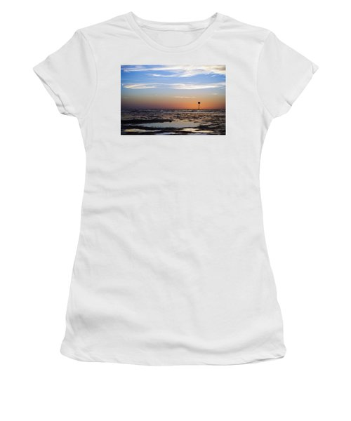 Pine Island Sunset Women's T-Shirt (Athletic Fit)