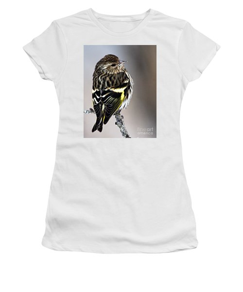 Pine Siskin Women's T-Shirt (Athletic Fit)