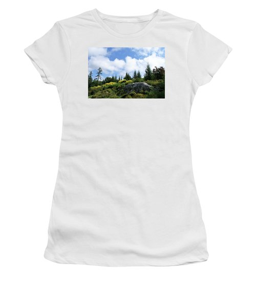 Pines At The Top Women's T-Shirt (Junior Cut) by Lois Lepisto