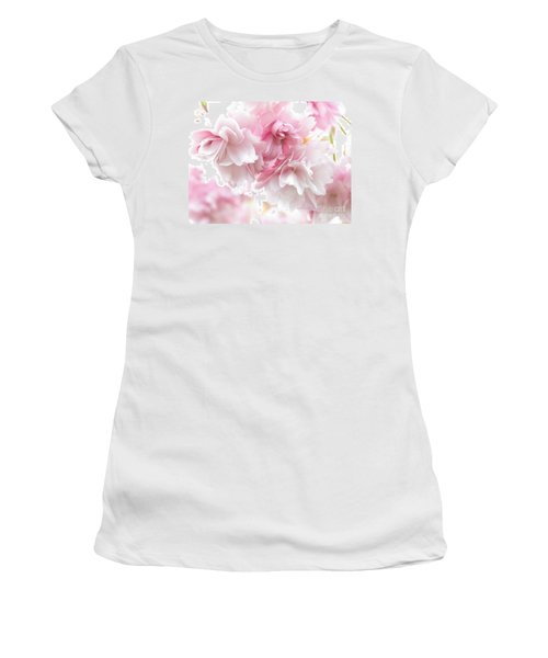 Pink April Women's T-Shirt (Athletic Fit)