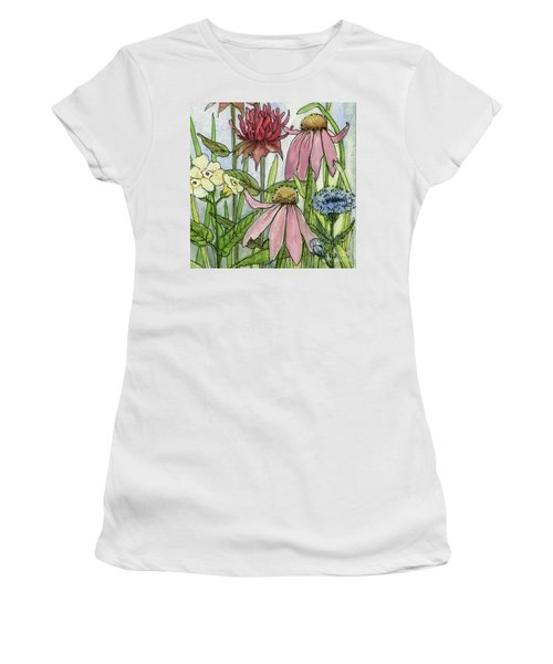 Pink Coneflower Women's T-Shirt