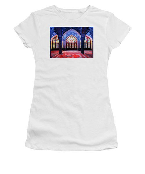 Pink Mosque, Iran Women's T-Shirt
