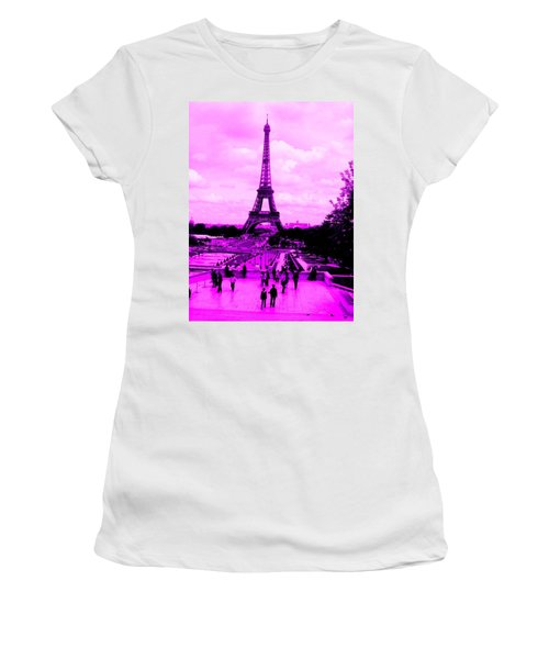 Pink Paris Women's T-Shirt