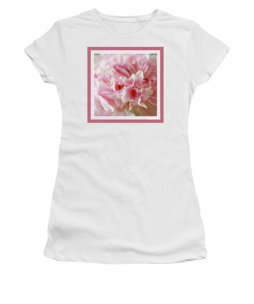 Women's T-Shirt (Athletic Fit) featuring the photograph Pink Perfection by Wendy Wilton