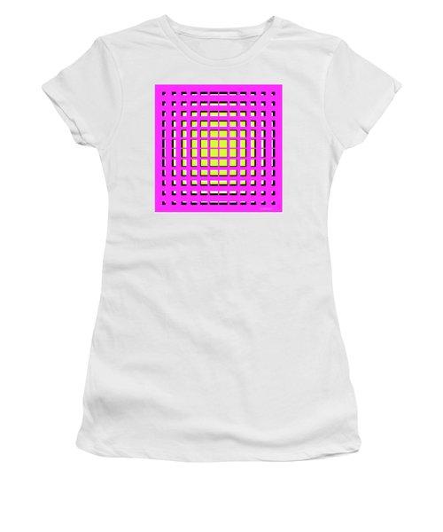 Pink Polynomial Women's T-Shirt
