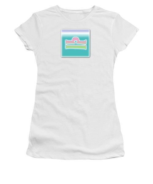 Libra Astrology Sun Sign Women's T-Shirt (Athletic Fit)