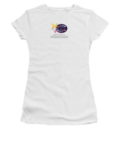Pisces Sun Sign Women's T-Shirt (Athletic Fit)