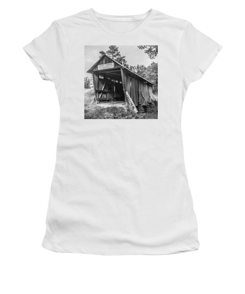 Pisgah Covered Bridge No. 1 Women's T-Shirt