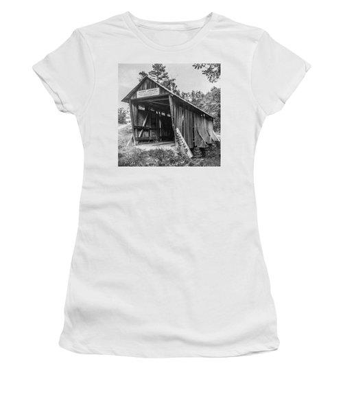 Pisgah Covered Bridge No. 1 Women's T-Shirt