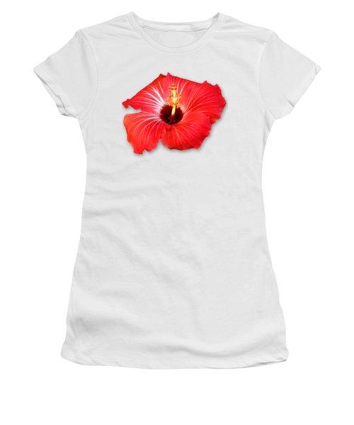 Pistil Power 2 Sehemu Mbili Unyenyekevu Women's T-Shirt (Junior Cut) by Bob Slitzan