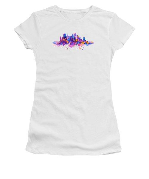Pittsburgh Skyline Women's T-Shirt