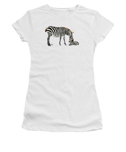Plains Zebras Women's T-Shirt (Athletic Fit)