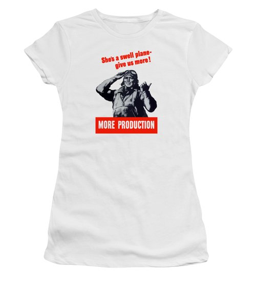 Plane Production Give Us More Women's T-Shirt