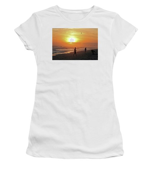 Play On The Beach Women's T-Shirt