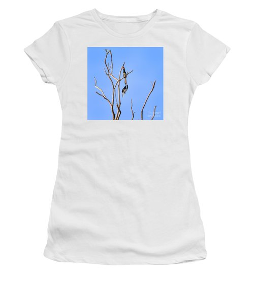 Play Time Hornbills Women's T-Shirt (Athletic Fit)