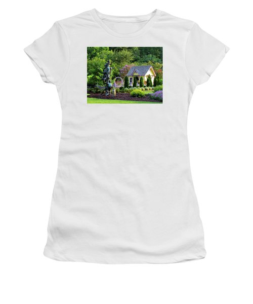 Playhouse In The Garden Women's T-Shirt