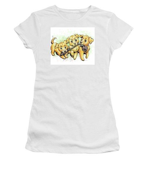Playtime Golden Retriever Women's T-Shirt