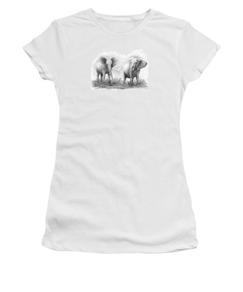 Playtime Women's T-Shirt (Junior Cut) by Phyllis Howard