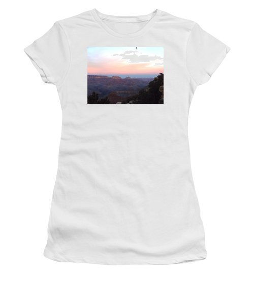 Pleasant Evening At The Canyon Women's T-Shirt (Athletic Fit)