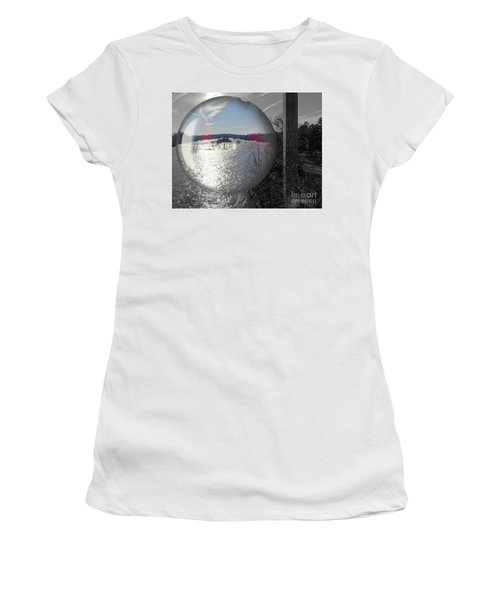 Point Of View Women's T-Shirt (Junior Cut) by Melissa Messick