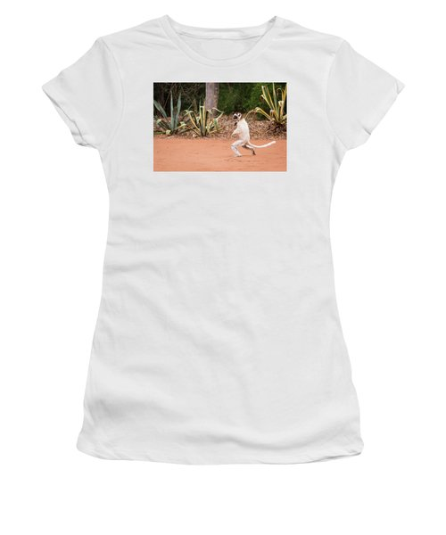 Women's T-Shirt (Athletic Fit) featuring the photograph Poise by Alex Lapidus