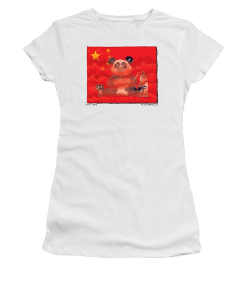 Pollution In China Women's T-Shirt