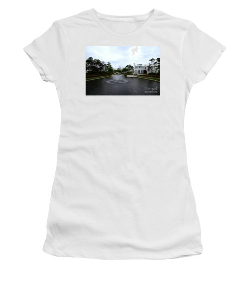 Pond At Alys Beach Women's T-Shirt (Athletic Fit)
