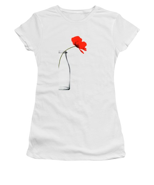 Poppy Red Women's T-Shirt (Athletic Fit)