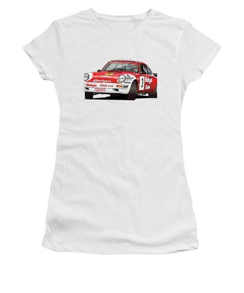 Porsche 911 Sc Rs Belga Team Women's T-Shirt (Athletic Fit)