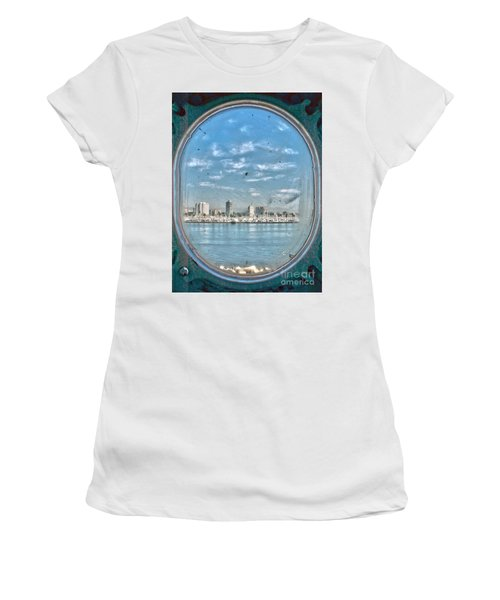 Port Hole  Women's T-Shirt (Athletic Fit)