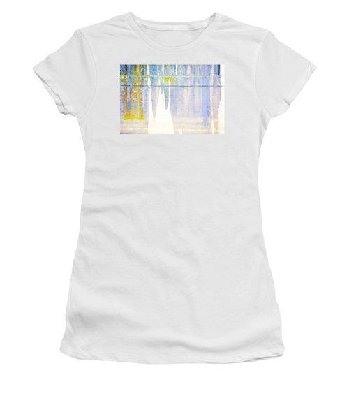 Portland Bridge Support Women's T-Shirt (Athletic Fit)