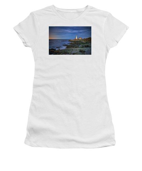 Portland Head Aglow Women's T-Shirt (Junior Cut) by Rick Berk