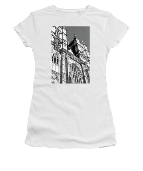 Portrait Of Westminster Abbey Women's T-Shirt (Athletic Fit)